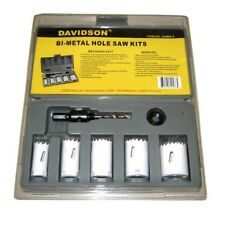 5 Pc Bi-Metal Hole Saw Kit, MechanicsHole Saw, Electricians Hole Saw, Drill Bit