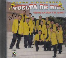 Banda Sinaloense Vuelta De Rio Entre La Vida y El Alma CD New Sealed