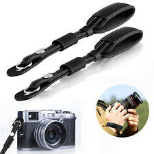 Leather Camera Hand Strap Wrist Grip PU Belt For Sony Canon Nikon Olympus DSLR