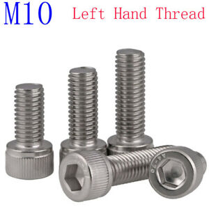 Fully Threaded Hex Tap Bolts 20 Pcs Flat Point RESALET M6 Hex Bolt M6-1 x 100mm UNC Hex Head Cap Screw Bolts Stainless Steel A2-70 304