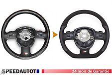 Échange  Alcantara Aplati Volant Cuir Audi A3, A4, A5, A6, Q5, Q7