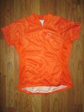 Womens Pearl Izumi athletic 3/4 zip cycling biking jersey shirt sz M Md Med