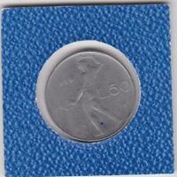 50 Lire Italien 1959 Italy seltener
