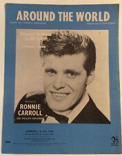 AROUND THE WORLD. -  VICTOR YOUNG. -  SHEET MUSIC
