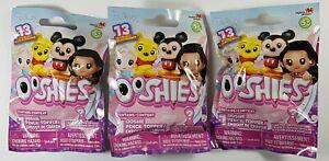 3x Ooshies Random Pencil Topper Blind Bag Winnie Micky Disneys Princess Girl Boy