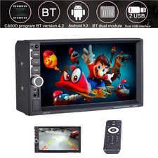 "7"" Car MP5 HD Touch Screen Player Radio Video GPS Map Audio Stereo FM Bluetooth"