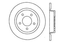 Disc Brake Rotor-High Performance Drilled and Slotted Centric fits 04-07 Mazda 3