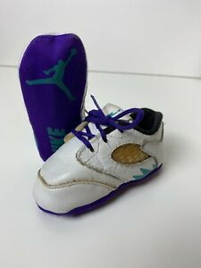 EXTREMELY Rare Vintage 1990 Nike Air Jordan V Grape Original OG