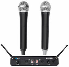 Samson Concert 288 Handheld 2-Ch. Wireless Karaoke Microphone System w/ 2 Mics
