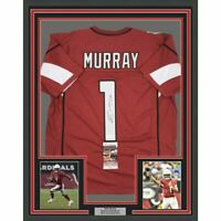 FRAMED Autographed/Signed KYLER MURRAY 33x42 Arizona Red Jersey JSA COA Auto