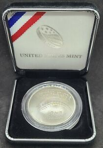US Mint - 2014 Baseball Hall of Fame - Uncirculated Curved Silver Dollar Coin