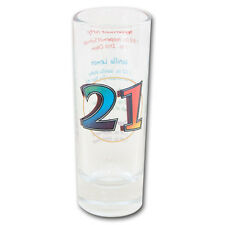 21 st Birthday LEGALLY 21 PARTY SHOT GLASS  Party supplies Birthday Fun