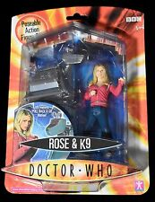 Doctor Who Collection ROSE & K9 Action Figure Set