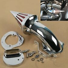 Chrome Spike Air Cleaner Intake Filter Yamaha Vstar Dragstar XVS 1100 Classic