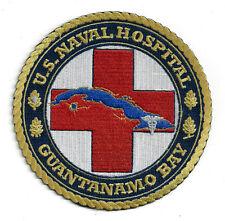 US NAVAL HOSPITAL CLUB GITMO GUANTANAMO BAY CUBA PATCH US NAVY VETERAN GIFT USS