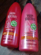 Salon Selectives Conditioner Volume/Body 22.5oz Inc. 60% More-RARE Size Lot of 2