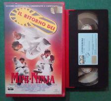 VHS FILM Ita Commedia IL RITORNO DEI MINI-NINJA columbia ex nolo no dvd(VH76)