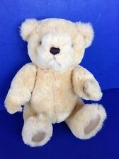 """Gund Teddy Bear 1982 Fully Jointed limbs Plush Toy 13"""" light brown tan"""