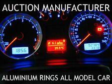 VW Golf 4 mk4 1996-2006 2- Teilig Aluminium Tachoringe / Tacho Ringe