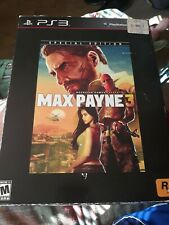 Max Payne 3 Special Edition ps3 statue and keychain no game