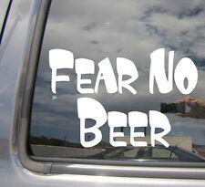 Fear No Beer - Happy Hour - Car Window Vinyl Decal Sticker 02019