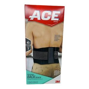 ACE Brand Adjustable Back Brace, Odor Resistant, Resists Bunching