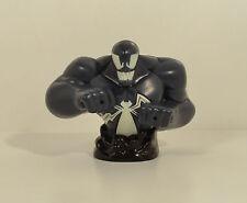 "2009 Venom Bust Squirter 3.5"" Burger King Action Figure Marvel Spider-Man"