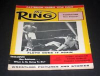 THE RING BOXING MAGAZINE OCTOBER 1958 FLOYD PATTERSON