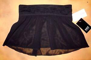 NWT Dance Bloch Black Skirt Stitch Pleat Waist Band Ladies Small Adult R2511