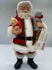 Cat Carrier Clothtique Possible Dreams Santa Figurine Dept 56 Enesco 4033694