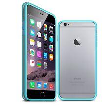 Coque Bumper Pour iPhone 6 Plus (5.5) Bleu Transparent  protecteur Ultra Clear H