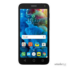 "Optus Alcatel Pop 4 5051X Dark Grey 4G 5"" Screen 8MP Cam Android 6.JBL Headphone"