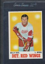 1970/71 Topps #030 Billy Dea Red Wings EX/MT *92