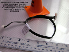"""Samsung 50"""" UN50EH5300FXZA Cable from Power Board @[CMN803] to Main Board"""
