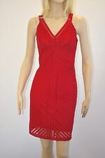 Spense Women's Red Sleeveless Knee length Cocktail Party Dress Size 10