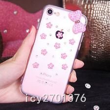 Luxury Bling Crystal Diamond Rhinestone Soft Clear back Case Cover For Phones 1