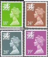 GB-Wales 60C-63C (kompl.Ausg.) postfrisch 1991 Wales