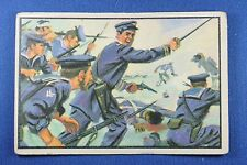 1954 Bowman U.S. Navy Victories Card - #30 Naval Forces Land At Mulije - G/VG