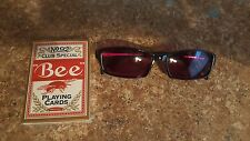 Bee Factory Marked Poker Playing Cards and Special Infrared Sunglasses