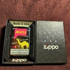 Zippo Camel Ahoj lighter, Czech edt., new design 2020
