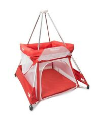 BABYHUB SLEEPSPACE | PREMIUM TRAVEL COT AND TEPEE | RUBY | NEW | FREE P&P