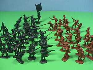 BMC Alamo 1/32 Scale Soldiers Set Texicans Mexicans Historical Figures 98573 NEW