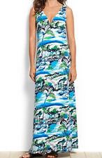 Tommy Bahama SCENIC HARBOR Long Maxi Dress Swim Coverup MEDIUM $104 NWT