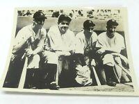 Vintage 1990's Baseball Print Photo Lou Gehrig Babe RUTH etc 8 x 10