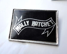 Vintage Southern Boogie Rock Band pin badge Molly Hatchett Hlubek