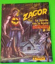 ZAGOR Lo spirito con la scure album figurine cartonato con cofanetto
