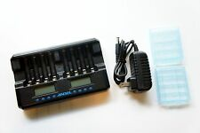 Andel 8 Slot Smart Charger AA AAA Ni-MH Ni-Cd Rechargeable Battery Charger