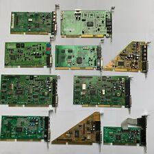 Sammlung Konvolut Soundkarte ISA 10Stück CT Crystal Avance logic PC Computer 486
