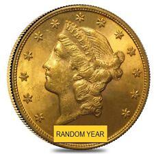 $20 Gold Double Eagle Liberty Head - Brilliant Uncirculated BU (Random Year)