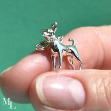 Sterling Silver Chihuahua Dog Jewellery Charm
